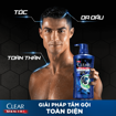 Picture of Dầu tắm gội Clear Men 3 trong 1 Active Vibe 340 g