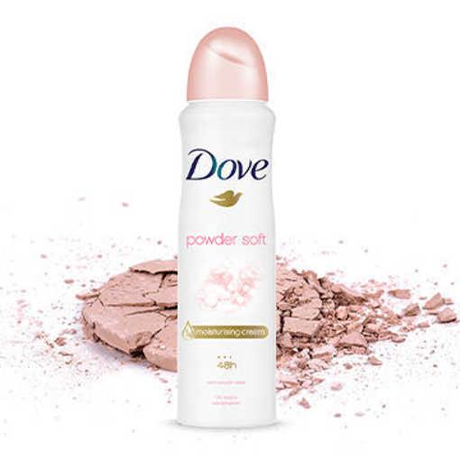 Picture of Xịt Khử Mùi Dove Powder Soft Dưỡng Da Sáng Mịn Hương Phấn thơm 150 ml