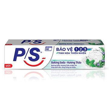Ảnh của Kem đánh răng P/S Bảo Vệ Baking Soda Hương Thảo 230g