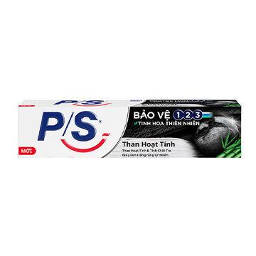 Ảnh của Kem Đánh Răng P/S Bảo vệ 123 Than Hoạt Tính 230g
