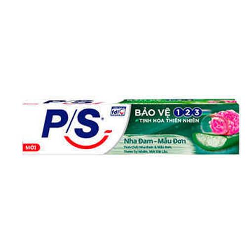 Ảnh của Kem đánh răng P/S Bảo vệ 123 Nha đam - Mẫu đơn 180g