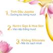 Ảnh của Kem Xả Dove Giúp Tóc Bóng Mượt Hoa Sen & Dầu Jojoba Botanical Selection 500g