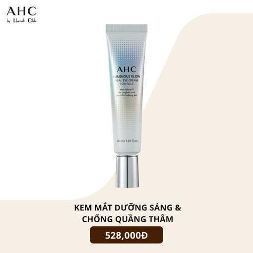 Ảnh của Kem dưỡng mắt AHC Luminous Glow Eye Cream for Face 30ml
